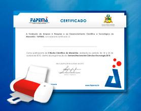 certificados FAPEMA 04