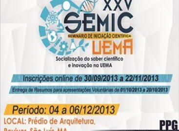 Seminário de Iniciação Científica da UEMA vai até amanhã, 06
