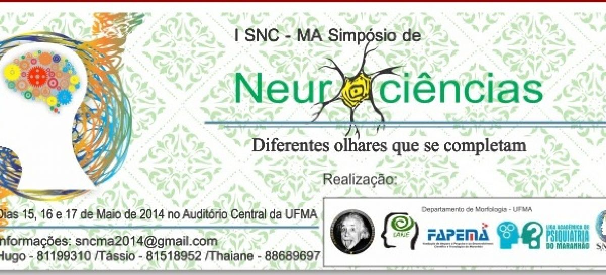 UFMA será sede do I Simpósio de Neurociências do Maranhão