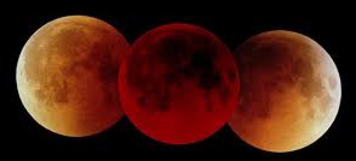 Eclipse lunar poderá ser visto a partir das 3h da madrugada desta terça