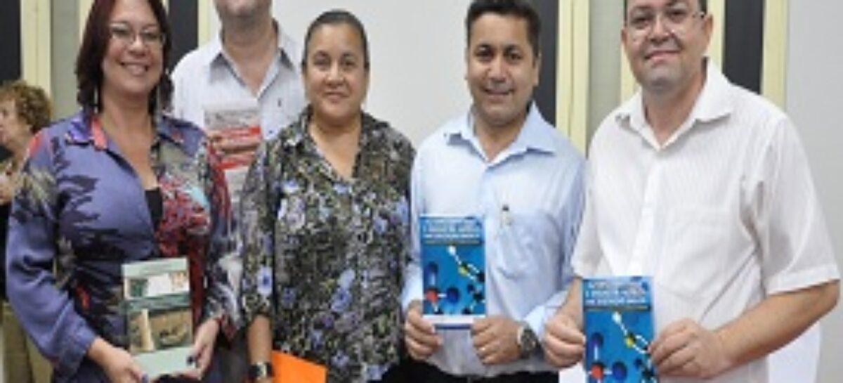 Livros apoiados pela FAPEMA são lançados na Biblioteca Benedito Leite
