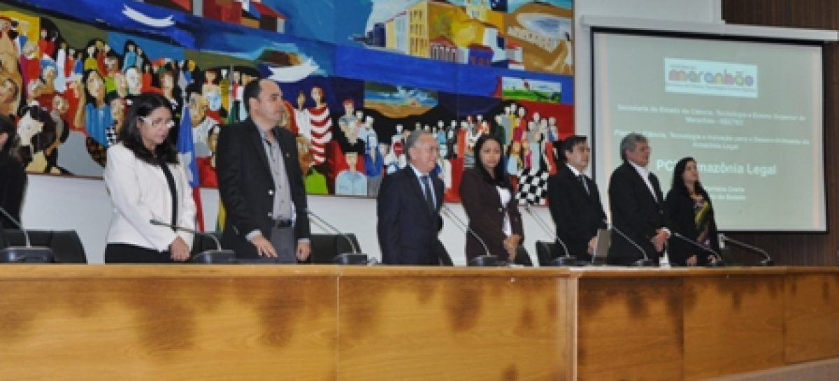 Plano de Desenvolvimento Científico da Amazônia é apresentado na Assembleia Legislativa
