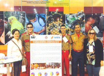 Estudantes de Balsas e do Colégio Militar 2 de Julho, apoiados pela FAPEMA, apresentam pôsteres na SBPC 2014, no Acre