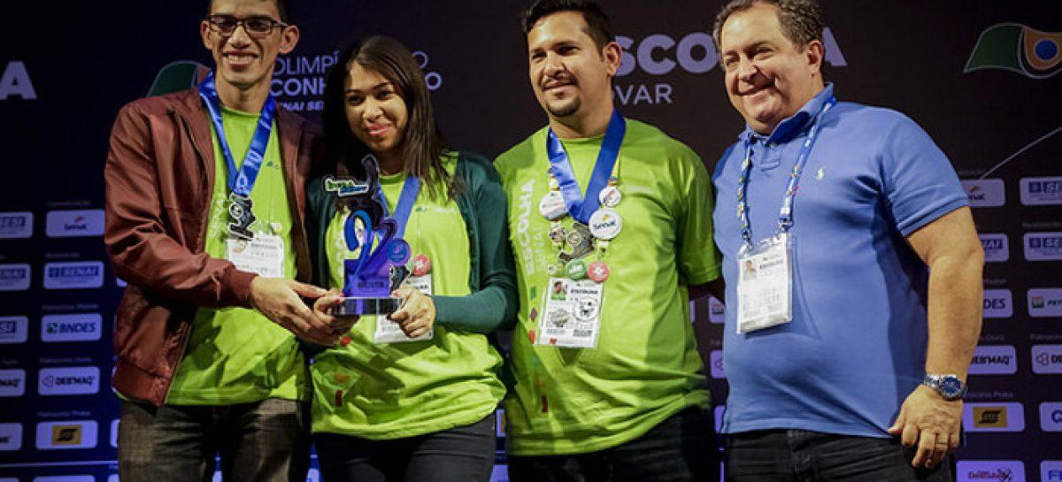 Maranhão é o primeiro do Nordeste em prêmios no Inova SENAI