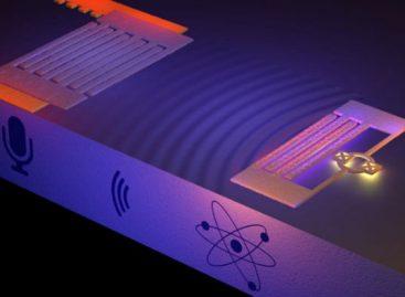 Físicos conseguem capturar o som de um átomo pela primeira vez