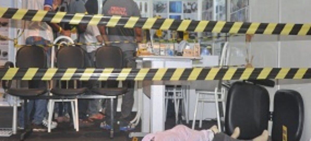 Stand do ICRIM simula cena de crime e explica sobre Perícia na SNCT MA 2014