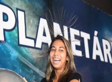 Planetário é sucesso de público na SNCT que já recebeu mais de 20 mil pessoas e a participação de sessenta escolas