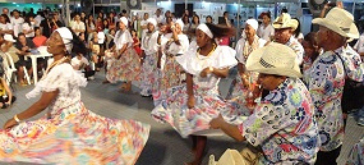 Tambor de Crioula encanta visitantes da SNCT