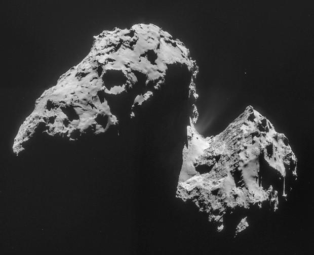 A comet-water fran