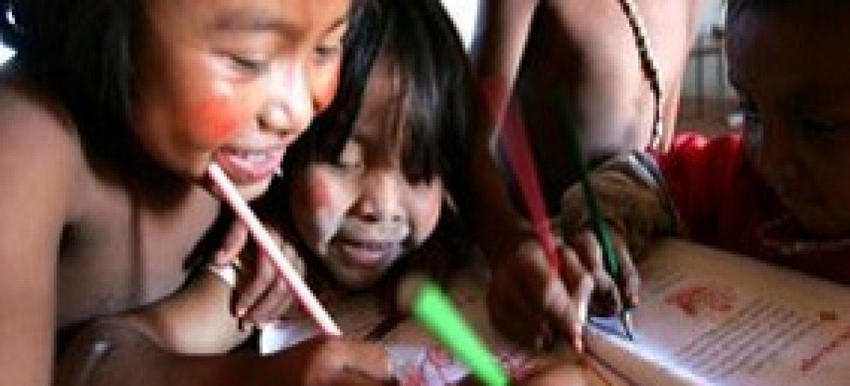 Educação indígena é tema de pesquisa