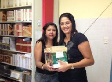 Fapema realiza doação de livros para o Instituto de Ensino Superior Franciscano