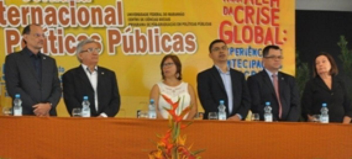Fapema participa da abertura da VII Jornada Internacional de Políticas Públicas na UFMA