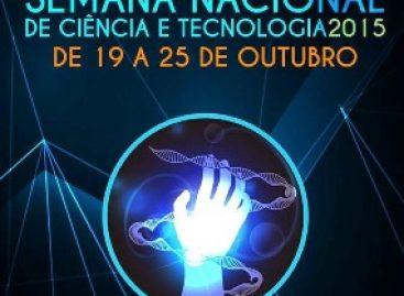 Semana Nacional de Ciência e Tecnologia tem inscrições prorrogadas