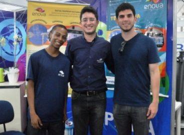 Projeto de turbinas eólicas é apresentado em stand da Fapema na Semana Nacional de Ciência e Tecnologia