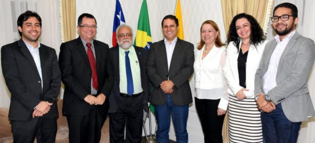Diretor-presidente da Fapema participa de reunião para desenvolver ações conjuntas nas áreas de Ciência e Tecnologia