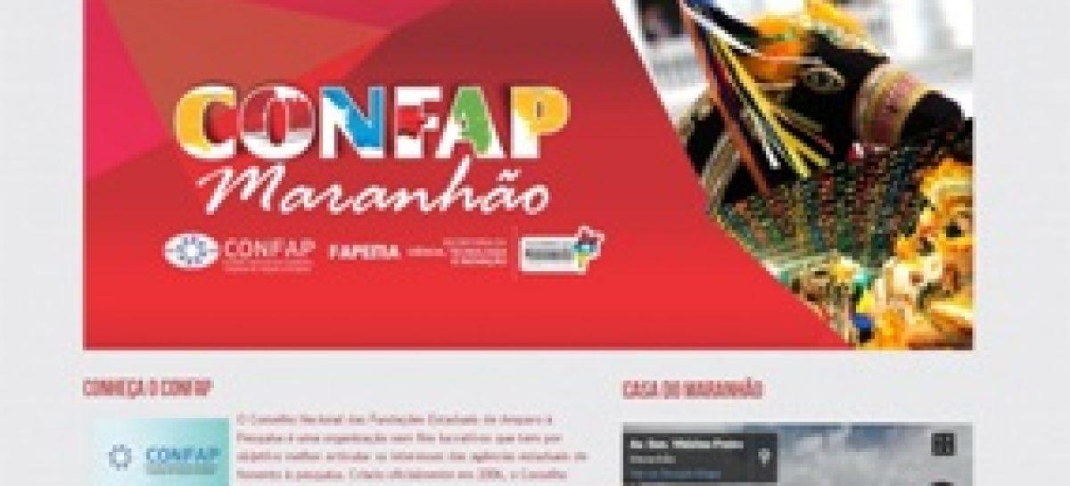 Fapema desenvolve hotsite sobre o Fórum Confap Maranhão