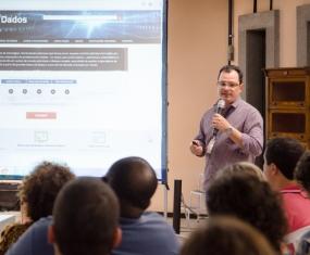 Marcel Pedroso, coordenador da Plataforma de Ciência de Dados em Saúde.