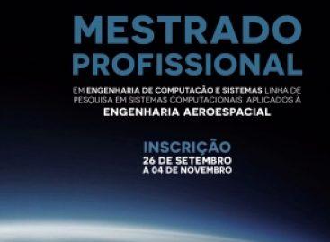 Abertas inscrições para mestrado em sistemas computacionais aplicados à engenharia aeroespacial