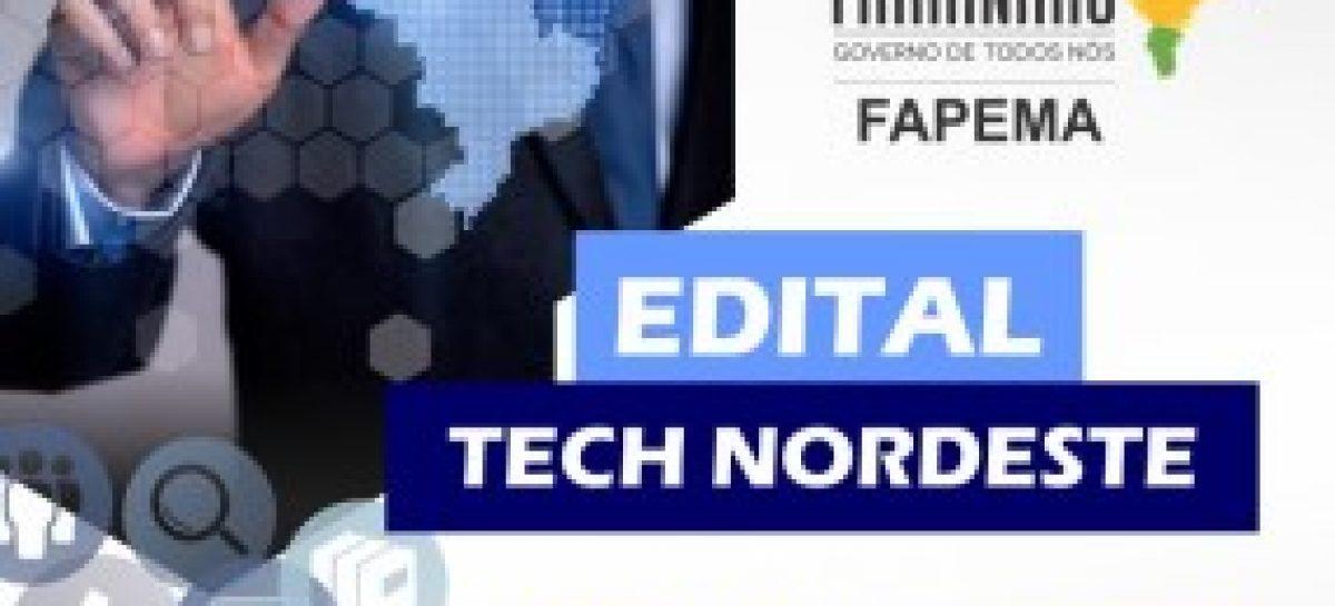 Inscrições para editais do TECH NORDESTE são prorrogadas