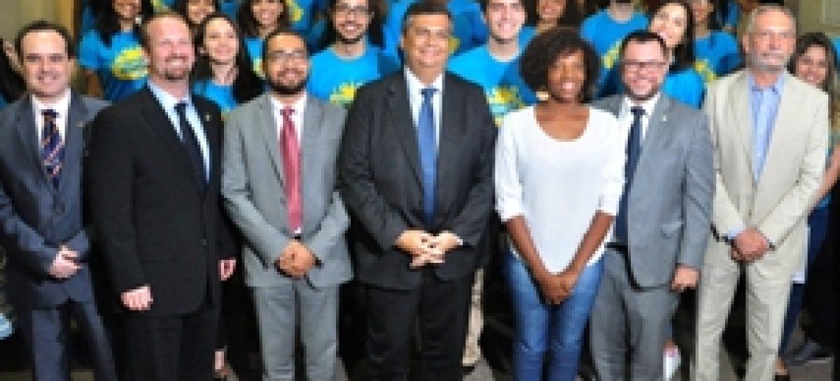 Governo realiza recepção dos estudantes da segunda turma do Programa Cidadão do Mundo
