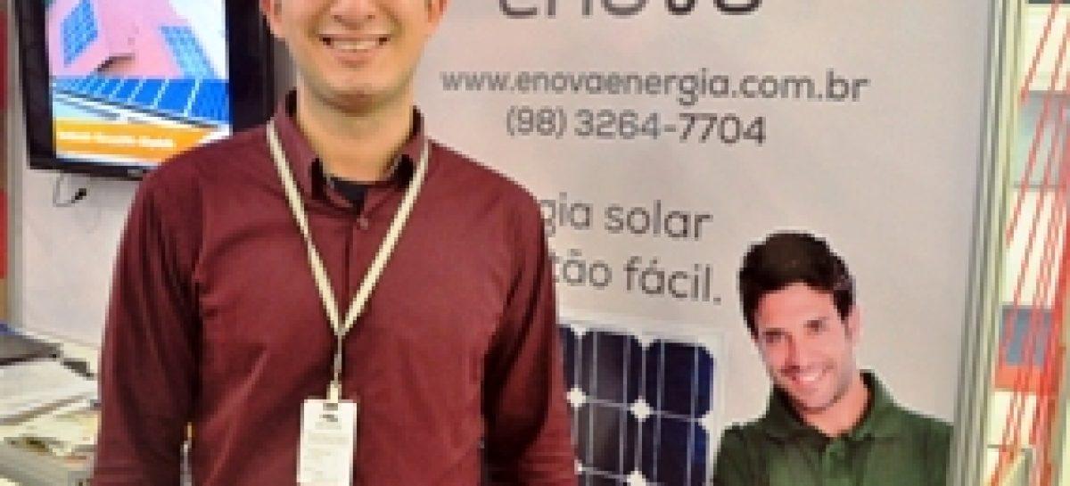 Projeto de turbinas eólicas financiado pela Fapema é apresentado no Tech Nordeste