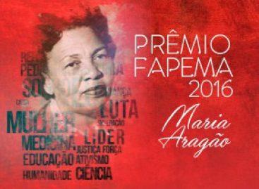 Prêmio Fapema homenageia a médica e ativista Maria Aragão