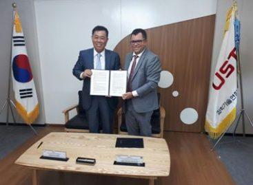 Fapema assina acordo de cooperação entre universidades na Coreia do Sul