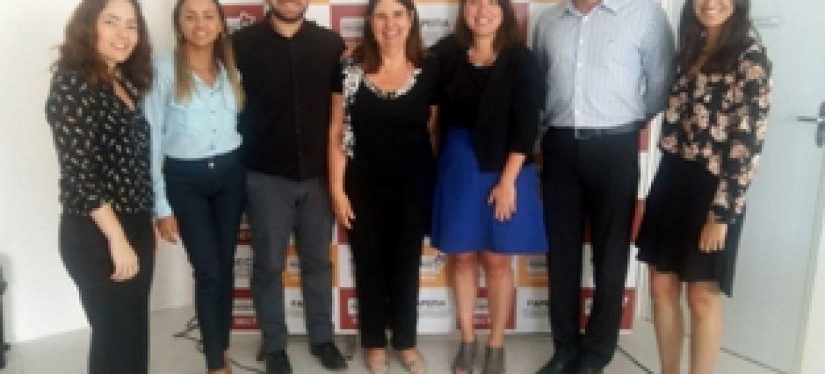 Fapema recebe equipe da organização de trainees Vetor Brasil