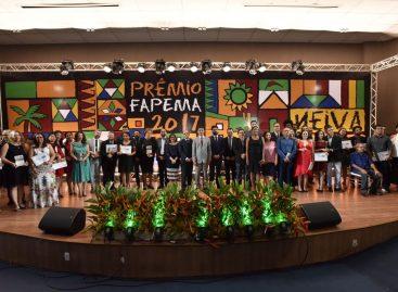 Vencedores do Prêmio Fapema Neiva Moreira 2017
