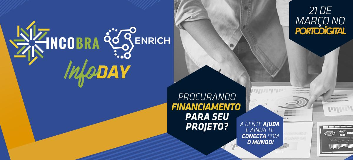 Incobra-Enrich InfoDay: um horizonte de oportunidade para a cooperação Brasil e União Européia