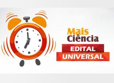 Encerra segunda-feira (02) prazo para submissão de propostas ao Edital Universal da Fapema