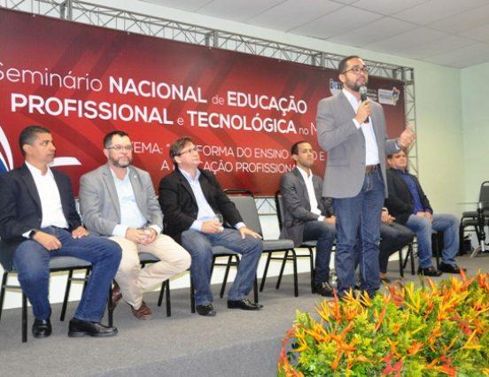 Fapema participa da abertura do II Seminário Nacional de Educação Profissional e Tecnológica no Maranhão