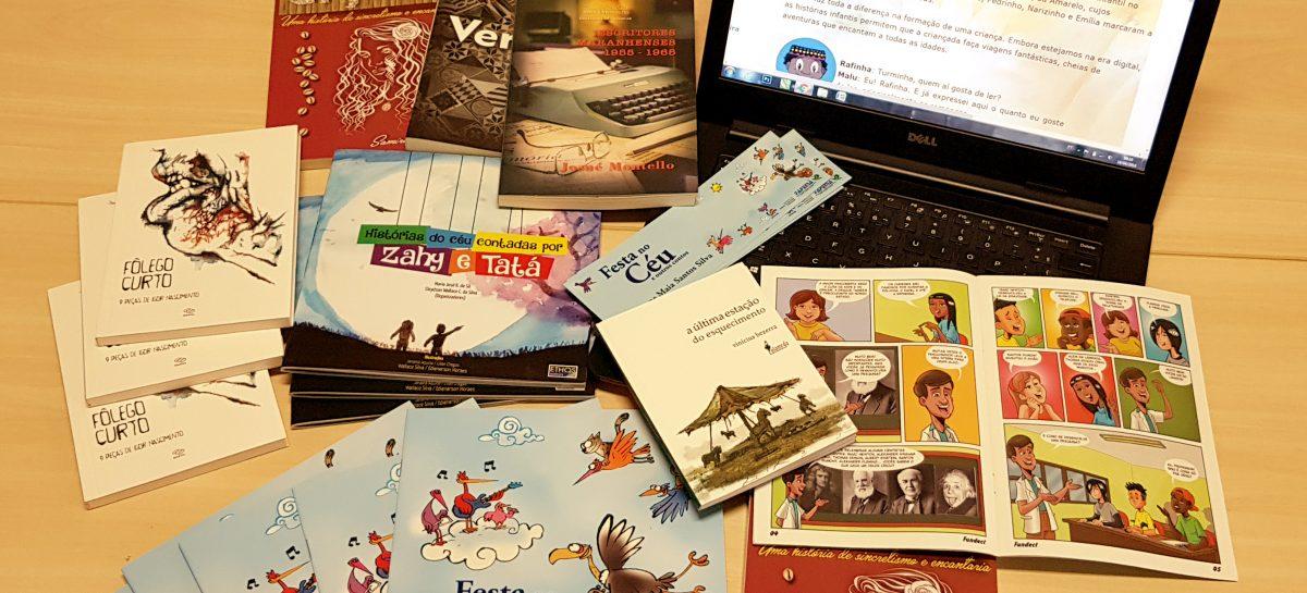 Programação do estande da Fapema na 12ª edição da Feira do Livro de São Luís