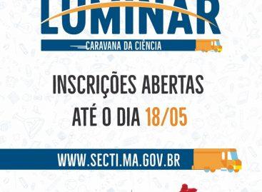 Abertas inscrições para o maior programa de popularização da ciência no Maranhão