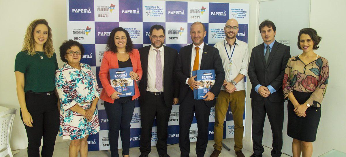 Fapema recebe comitiva de embaixada francesa para ampliação de parcerias