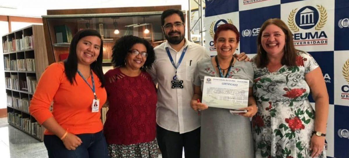 Fapema realiza workshop na 1ª Semana de Comunicação e Design da Universidade Ceuma