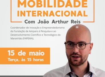 Mobilidade internacional será tema de palestra
