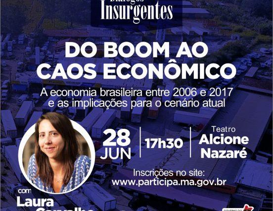 Diálogos Insurgentes aborda economia brasileira entre 2006 e 2017 e implicações para cenário atual