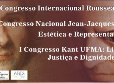 FAPEMA apoia três congressos que integram os pensamentos filosóficos de Rousseu e Kant