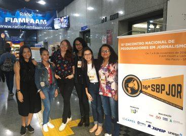 Onze alunas da UFMA participam de evento nacional de Jornalismo em São Paulo