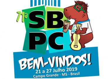 Inscrições para a 71ª Reunião Anual da SBPC já estão abertas