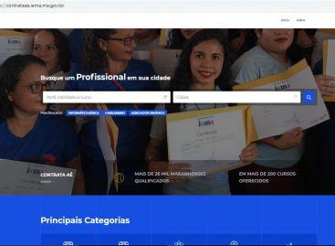 Iema disponibiliza plataforma ContrataAÊ em formato virtual