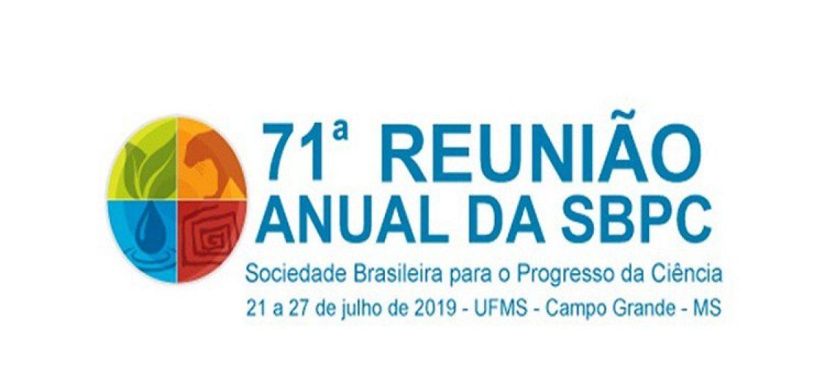 Faltam 130 dias para a 71ª Reunião Anual da SBPC