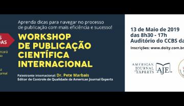 1º Workshop de Publicação Científica Internacional será sediado na UFMA