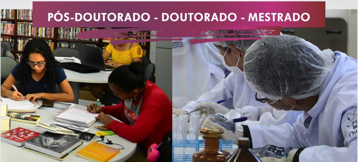 Encerra na sexta-feira (03) inscrições para os editais da FAPEMA de pós-doutorado, doutorado e mestrado