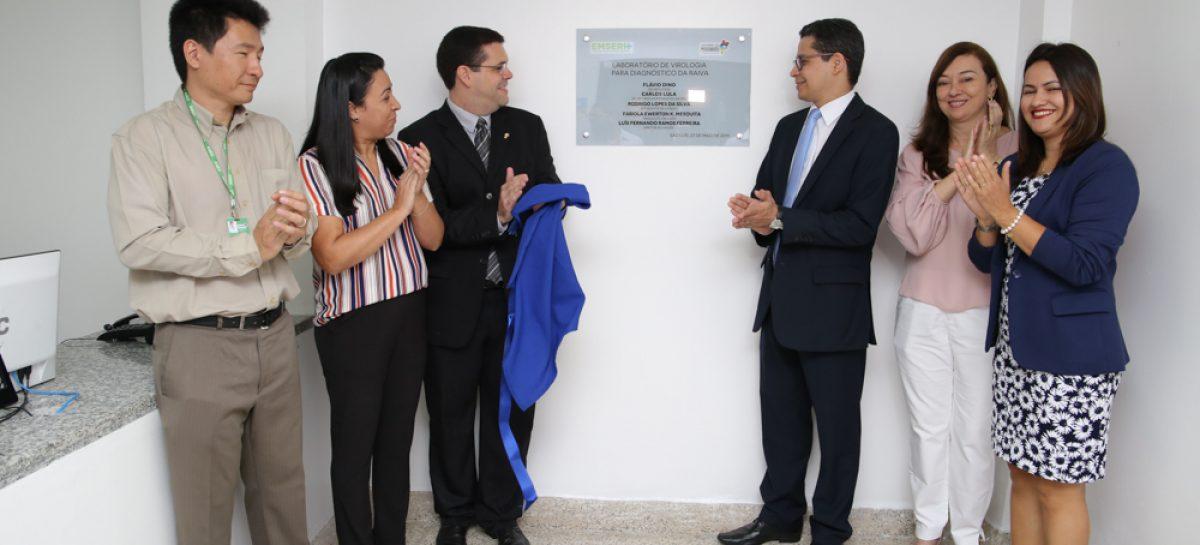 Governo comemora centenário do Lacen e entrega laboratório de diagnóstico da raiva