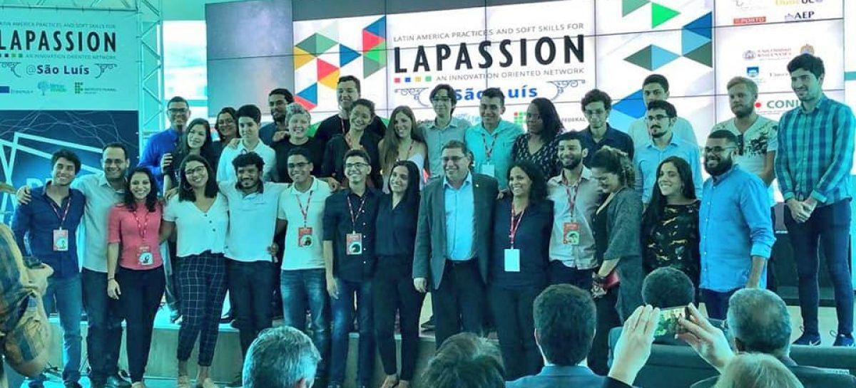 Diretor-presidente da FAPEMA André Santos acompanha apresentação dos resultados do Projeto LAPASSION