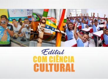 Governo lança edital Com Ciência Cultural para promover atividades científicas e culturais em escolas do Maranhão