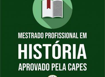 Mestrado Profissional de História em rede nacional é aprovado na UFMA