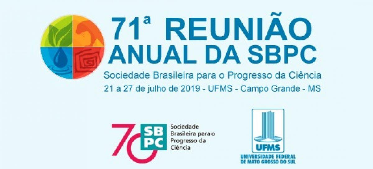 Faltam 60 dias para a 71ª Reunião Anual da SBPC